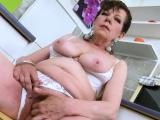 europemature horny mature seductive solo action
