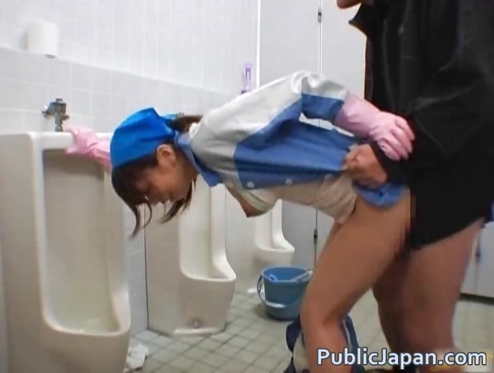 Porn Tube of Asian Maintenance Lady Cleans Wrong Part1