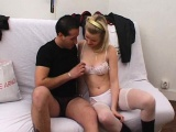 blonde teen vanessa fucked in stockings