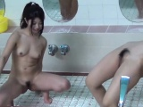 kinky asian teens shower