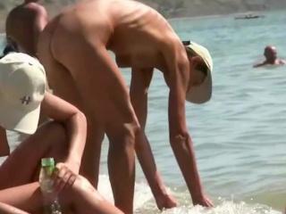 Sexy brunette hot nudits voyeur video...