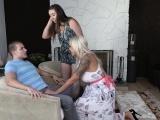 badmilfs   hot mommy fucks step daughter and boyfriend