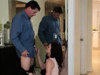 jessica rex fucked by her stepdad while mom preparing dinner