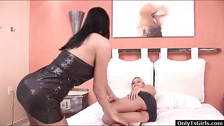 Porn Tube of Two Shemale Fuck Each Other In The Ass