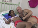 ebony stepdaughter dickriding stepdad ontop