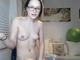small tits blonde chloe lynn masturbates solo