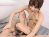 she gives him the best nuru massage ever