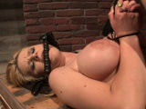 busty submissive pussytoyed and rough fucked