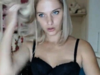 petite blonde titty in red lingerie takes a black dick