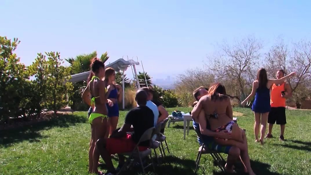 Swingers Having Fun With Each Other Making Unpleasant Games