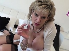 Cheating english mature lady sonia presents her massive jugs