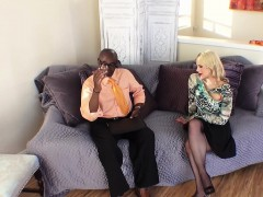 TEENGONZO Busty blonde Sarah Vandella takes fat BBC in pussy