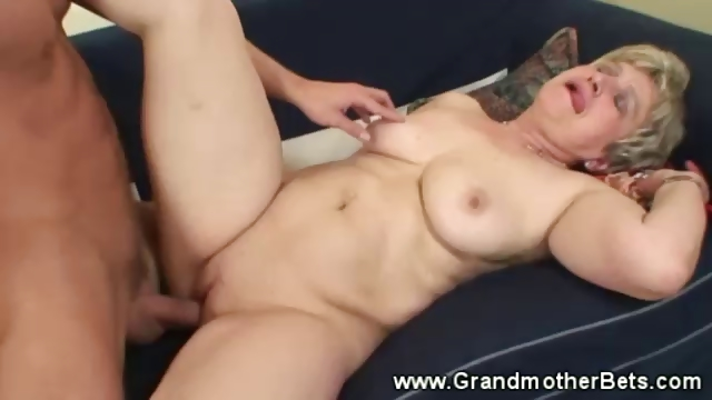 Porn Tube of Cumming On Horny Granny