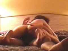 Beautiful ass riding and sucking cock