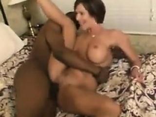 pretty white woman takes a big black cock