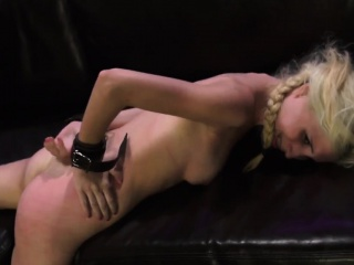 electric punishment and super girl bondage first time
