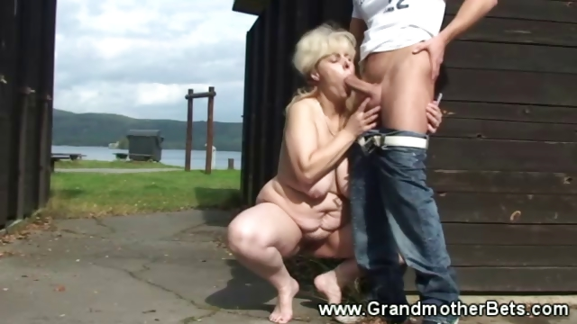 Porno Video of Granny Gets Fucked In The Barn