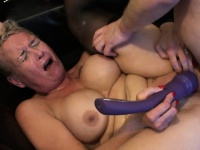 Mature Britt cocksucks dom in front of sissy | Porn-Update.com