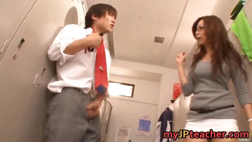 Porn Tube of Kaori Hot Japanese Teacher Getting Part4