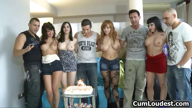 Porn Tube of Really Great Fuck Party Gangbang Part6