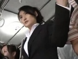 japanese public bus blowjob and fuck
