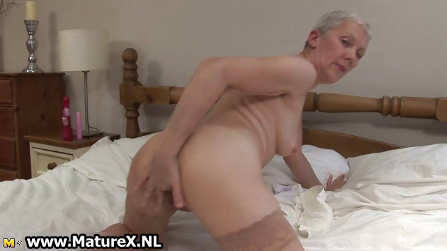 Porno Video of Dirty Granny With A Dripping Wet Pussy Part2