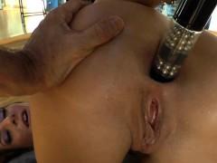 Big booty sluts ass toyed