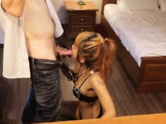 Asian Escort BBBJ In A Hotel Room