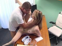 Perv doctor fucks gal in hospital