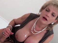Unfaithful british milf gill ellis shows her huge jugs62khQ