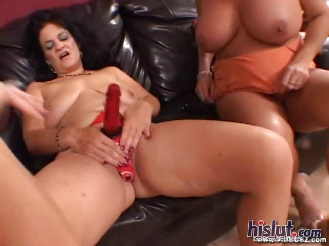 Porn Tube of These Lesbians Do Not Need Men