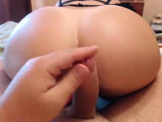 young high school couple trying anal, she screams ...