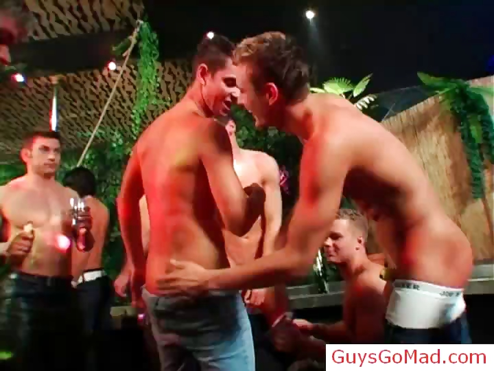 Porno Video of Guys Go Mad With A Banana Part1