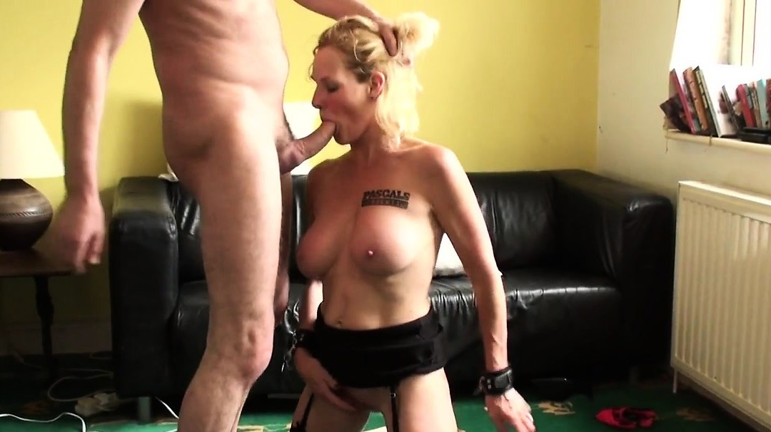 Uk Mature Bitch Rides Cock With Her Hands Tied