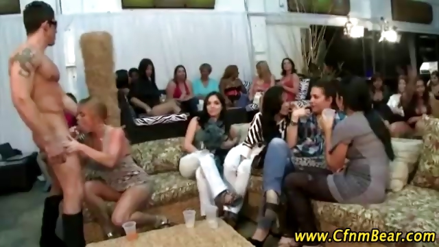 Porn Tube of Cumshots And Cocksucking Babes At Cfnm Party