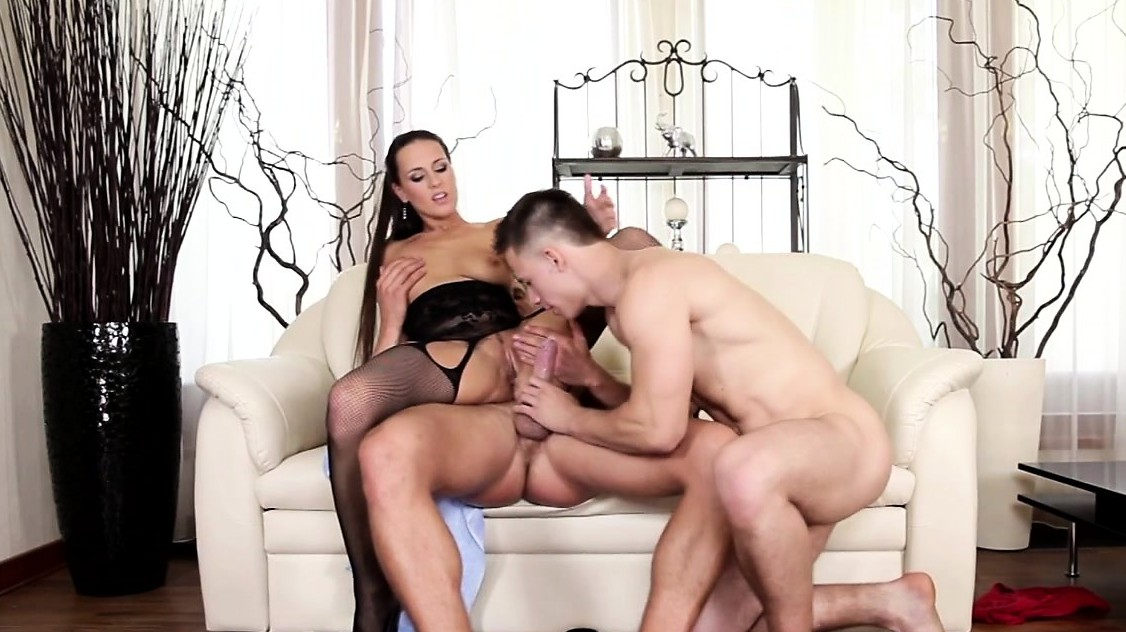 Muscular Stud Rides Dick While Getting A Bj