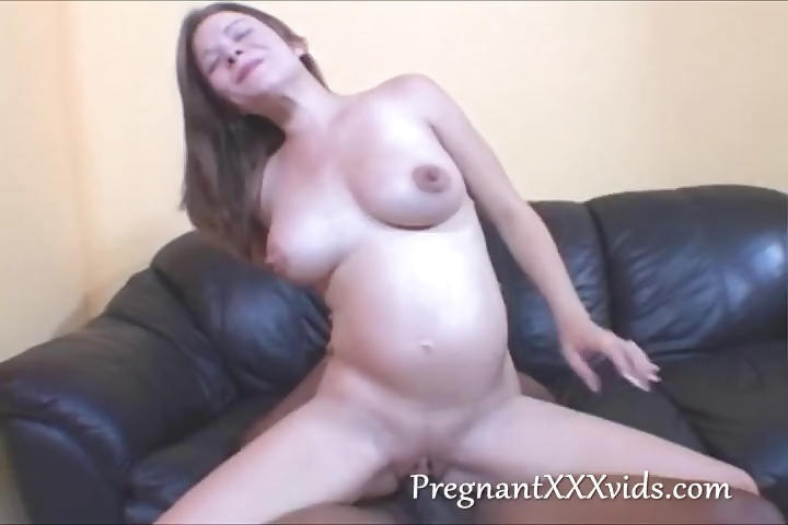 Sex Movie of Just Pregnant Fucked By Black Cock