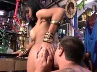 Indian pornstar with her boyfriend cock sucking make love in hd