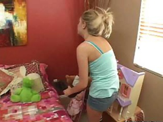 Porn Tube of Teen Babysitter Gets Fucked