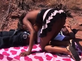 ebony slave with sweet tits and hairy pussy getting nailed