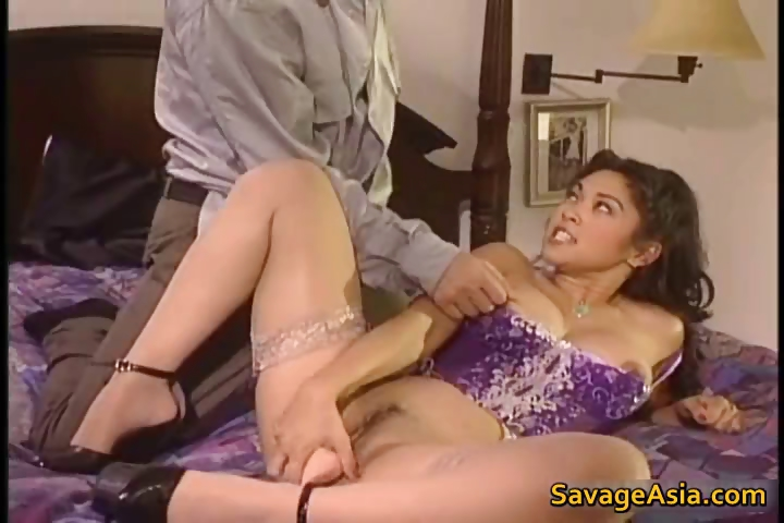 Porn Tube of Amazing Asian In Lingery Masturbating Part4