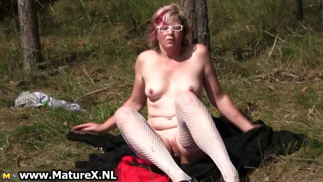 Porno Video of Horny Mature Nudists Cums Part4