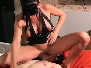 femdom carmen rivera bound her slave in hard effect