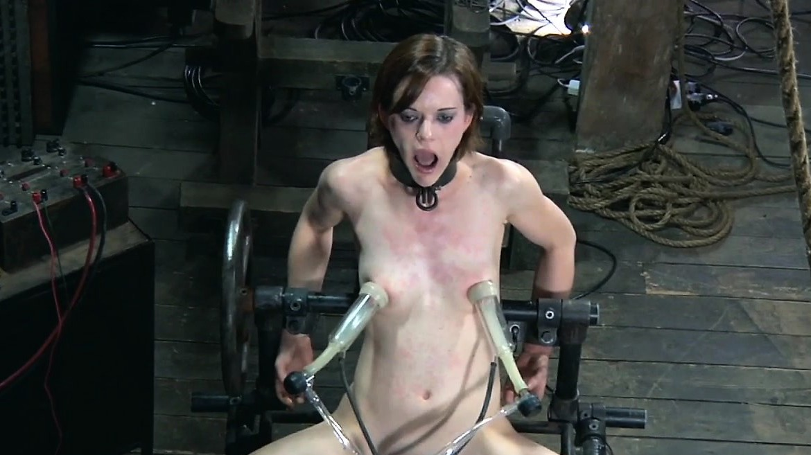 Tormented Slave Is Drilled From Behind