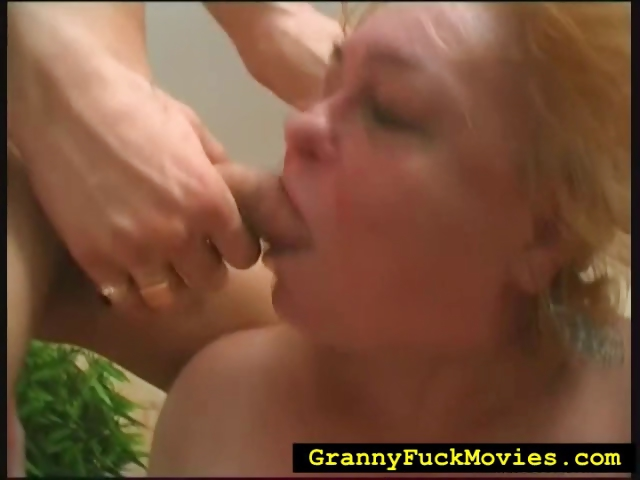 Porn Tube of Extreme Granny Hard Fucked In Wild 3some