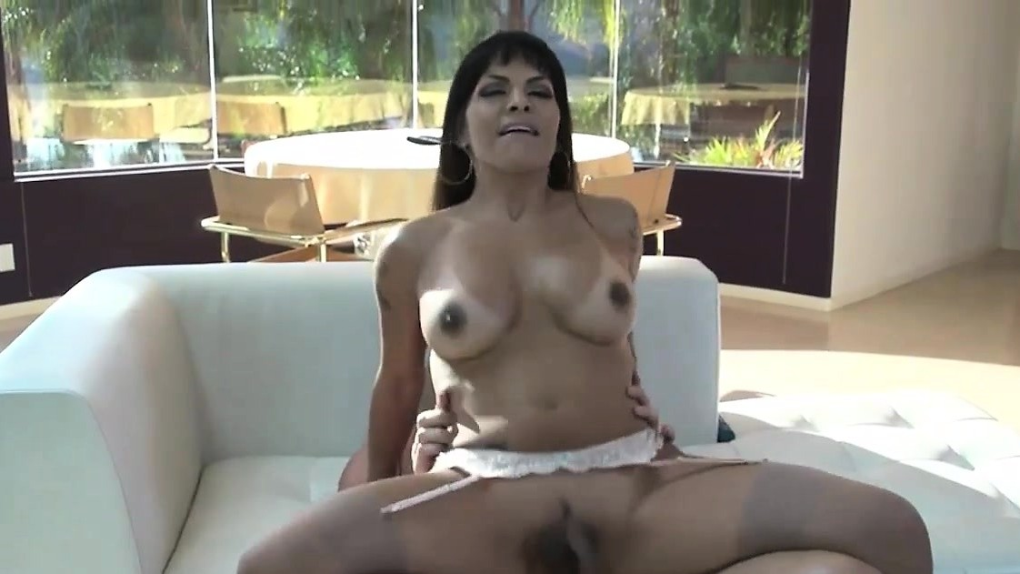 Busty Latina Shemale Ts Foxxy Anal Banged By Hard Cock