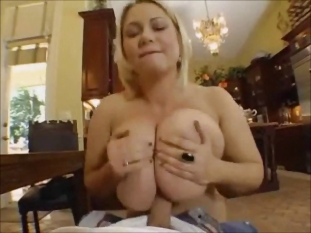Porn Tube of Horny Bbw Blonde Gets Nailed By A Young Guy