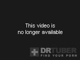 busty transsexual with glasses masturbating