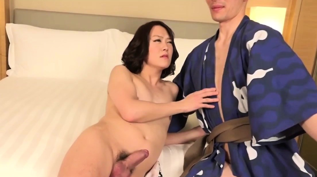 Japanse Kimono Newhalf Assfucking Amigo