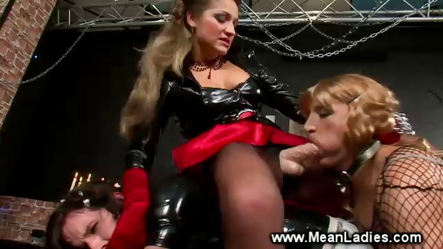 Porn Tube of Dominatrix Ruling Over Useless Sissys